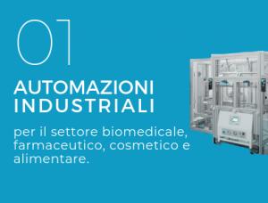 Automazioni Industriali per biomediale-farmaceutico