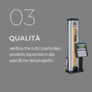 Controllo qualità- meccanica di precisione-Pieffetre Mirandola