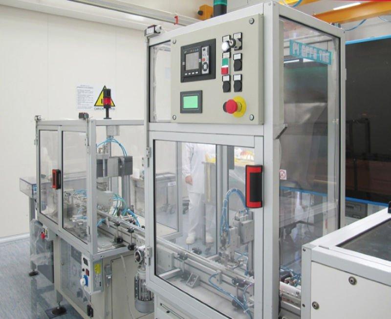 Automazione Industriale Linea Completa Assemblaggio Pi Effe Tre Mirandola Modena