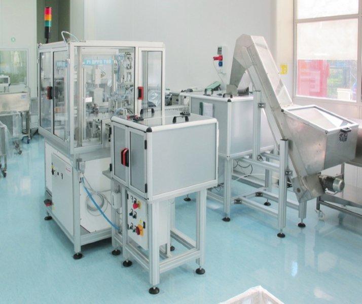 Linee Complete Automazione Industriale Medicale Farmaceutico PI EFFE TRE Mirandola Modena