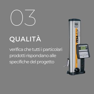 Controllo qualita meccanica di precisione Pieffetre Mirandola.